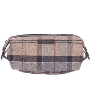 Women's Barbour Tartan Wash Bag