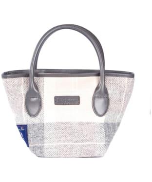 Women's Barbour Tartan Mini Tote Handbag - Pink / Grey Tartan