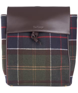Women's Barbour Milport Backpack - Classic Tartan