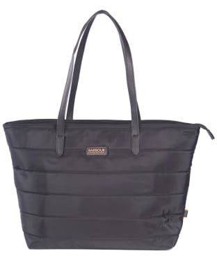 Women's Barbour International Trail Tote Bag - Black