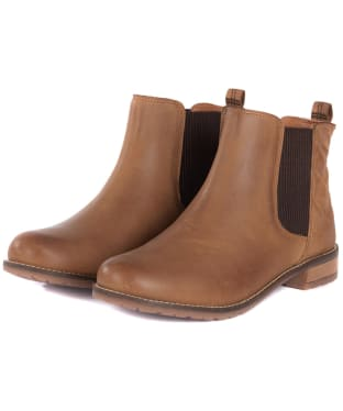 Women's Barbour Abigail Chelsea Boot - New Cognac