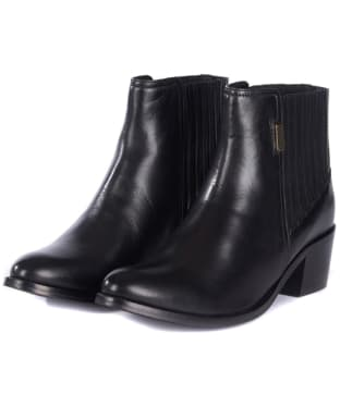 Women's Barbour International Compton Chelsea Boots - Black