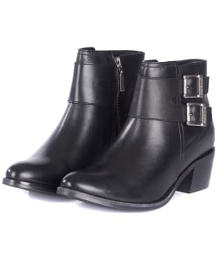 Women's Barbour International Inglewood Boots - Black