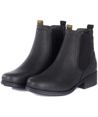 Women's Barbour Rimini Chelsea Boots - Black