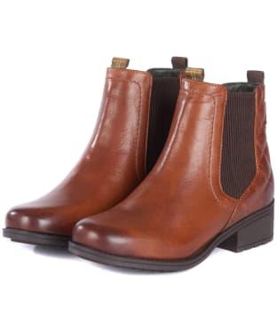 Women's Barbour Rimini Chelsea Boots - Chestnut