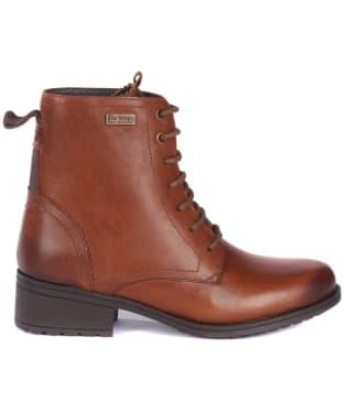 Women's Barbour Roma Derby Boots - Chestnut