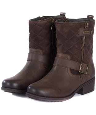 Women's Barbour Sienna Boots - Dark Brown