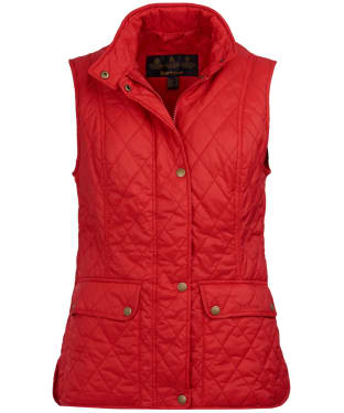 Women's Barbour Otterburn Gilet - Tartan Red