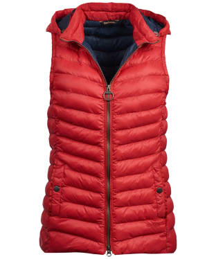 Women's Barbour Pendle Gilet - Reef Red