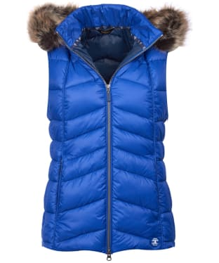 Women's Barbour Bernera Gilet - Sea Blue