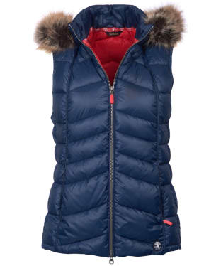Women's Barbour Bernera Gilet - Navy