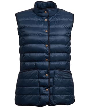 Women's Barbour Carlton Gilet - Navy