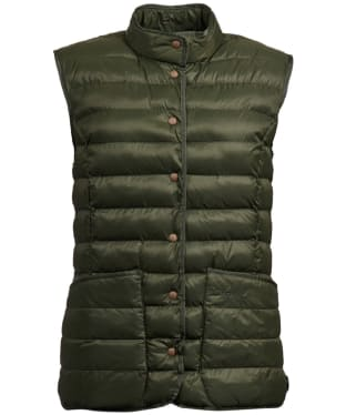 Women's Barbour Carlton Gilet - Olive