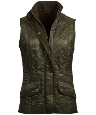 Women's Barbour Cavalry Gilet - Olive