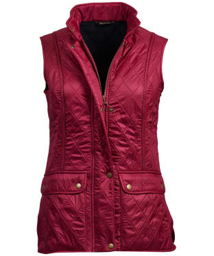 Women's Barbour Wray Gilet - Berry Pink