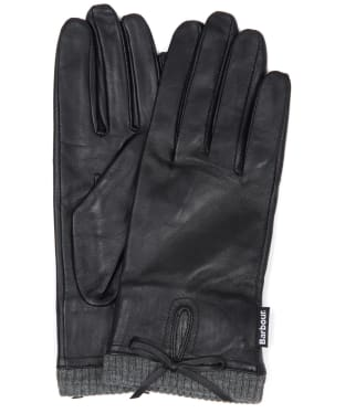 Women's Barbour Dovedale Gloves - Black