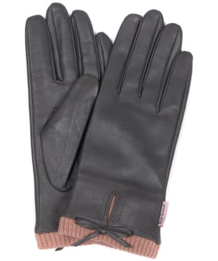 Women's Barbour Dovedale Gloves - Grey