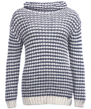 Women's Barbour Ventnor Knitted Sweater - Navy