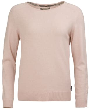 Women's Barbour Pendle Crew Neck Sweater - Blush Pink