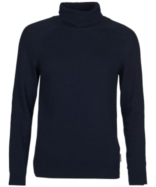 Women's Barbour Pendle Roll Collar Sweater - Navy