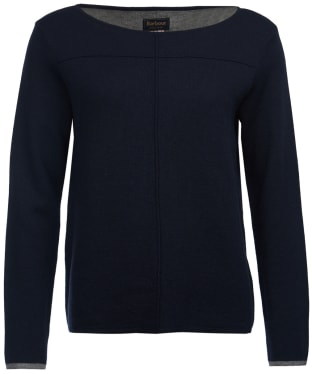 Women's Barbour Ailith Knitted Sweater - Navy