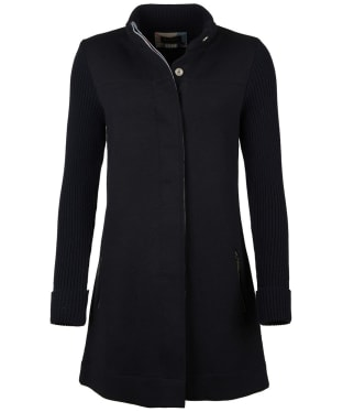 Women's Barbour Kilchurch Knitted Jacket - Navy