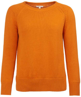 Women's Barbour Portsdown Crew Neck Sweater - Marmalade