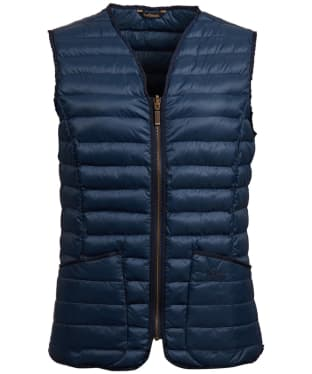 Women's Barbour Baffle Betty Liner - Navy