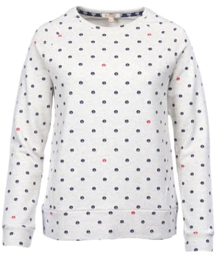 Women's Barbour Hemsley Sweatshirt - Cloud Marl