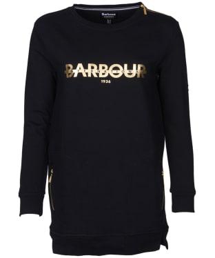 Women's Barbour International Weld Sweatshirt - Black