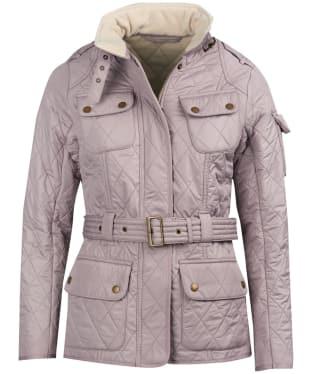 Women's Barbour International Tourer Polarquilt Jacket - Latte