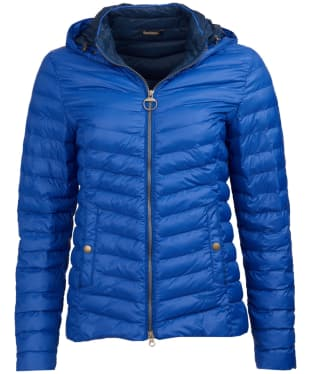 Women's Barbour Highgate Quilted Jacket - Sea Blue