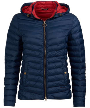 Women's Barbour Highgate Quilted Jacket - Navy