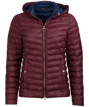 Women's Barbour Highgate Quilted Jacket - Aubergine