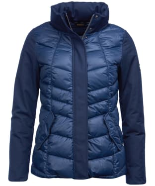 Women's Barbour Hayle Quilted Jacket - Navy