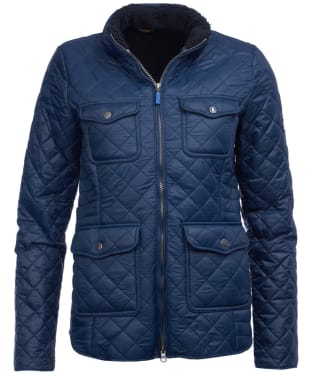 Women's Barbour Weymouth Quilted Jacket - Navy