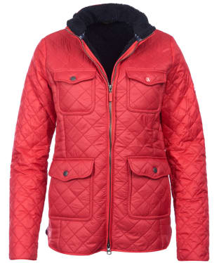 Women's Barbour Weymouth Quilted Jacket - Reef Red