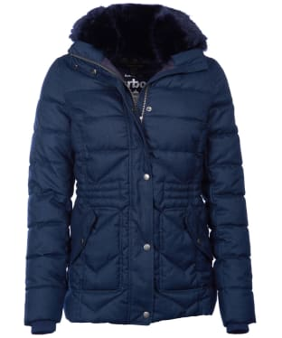 Women's Barbour Langstone Quilted Jacket - Navy