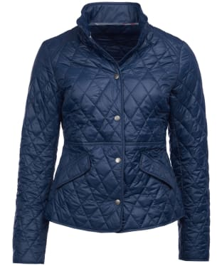 Women's Barbour Annis Quilted Jacket - Navy