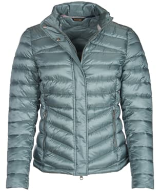 Women's Barbour Vartersay Quilted Jacket - Eucalyptus