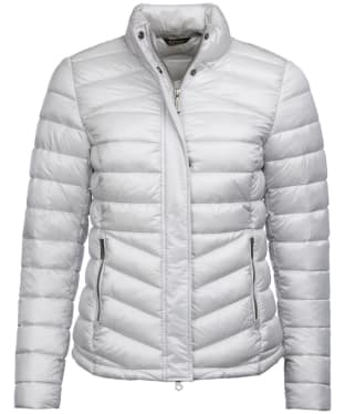 Women's Barbour Vartersay Quilted Jacket - Ice White