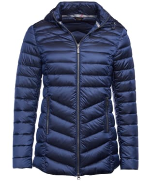 Women's Barbour Ailith Quilted Jacket - Royal Navy