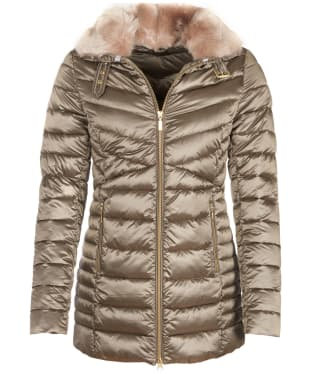 Women's Barbour Lomond Quilted Jacket - Mink