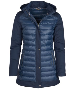 Women's Barbour Leven Quilted Jacket - Navy