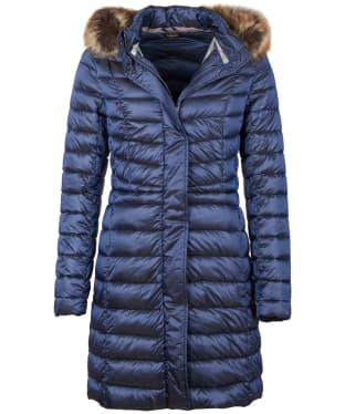 Women's Barbour Bernerary Quilted Jacket - Royal Navy