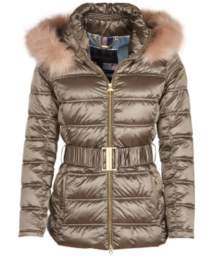 Women's Barbour Sundrum Quilted Jacket - Mink