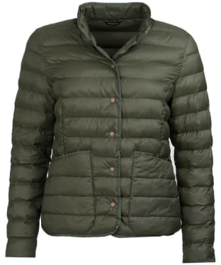 Women's Barbour Hollybush Quilted Jacket - Olive