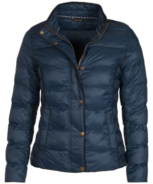Women's Barbour Gondola Quilted Jacket - Navy