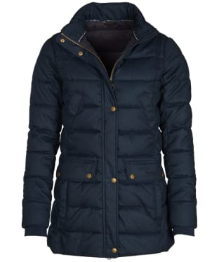 Women's Barbour Goldfinch Quilted Jacket - Navy