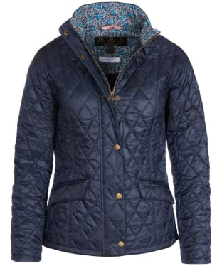 Women's Barbour Liberty Victoria Quilted Jacket - Navy
